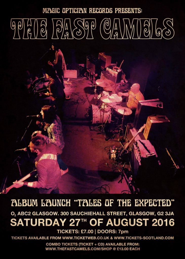 "The Fast Camels ""Tales of The Expected"" album launch"